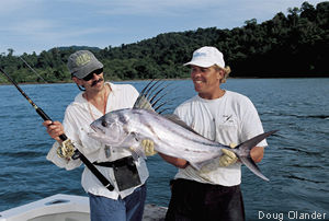 photo of roosterfish - Coiba Adventure, Panama